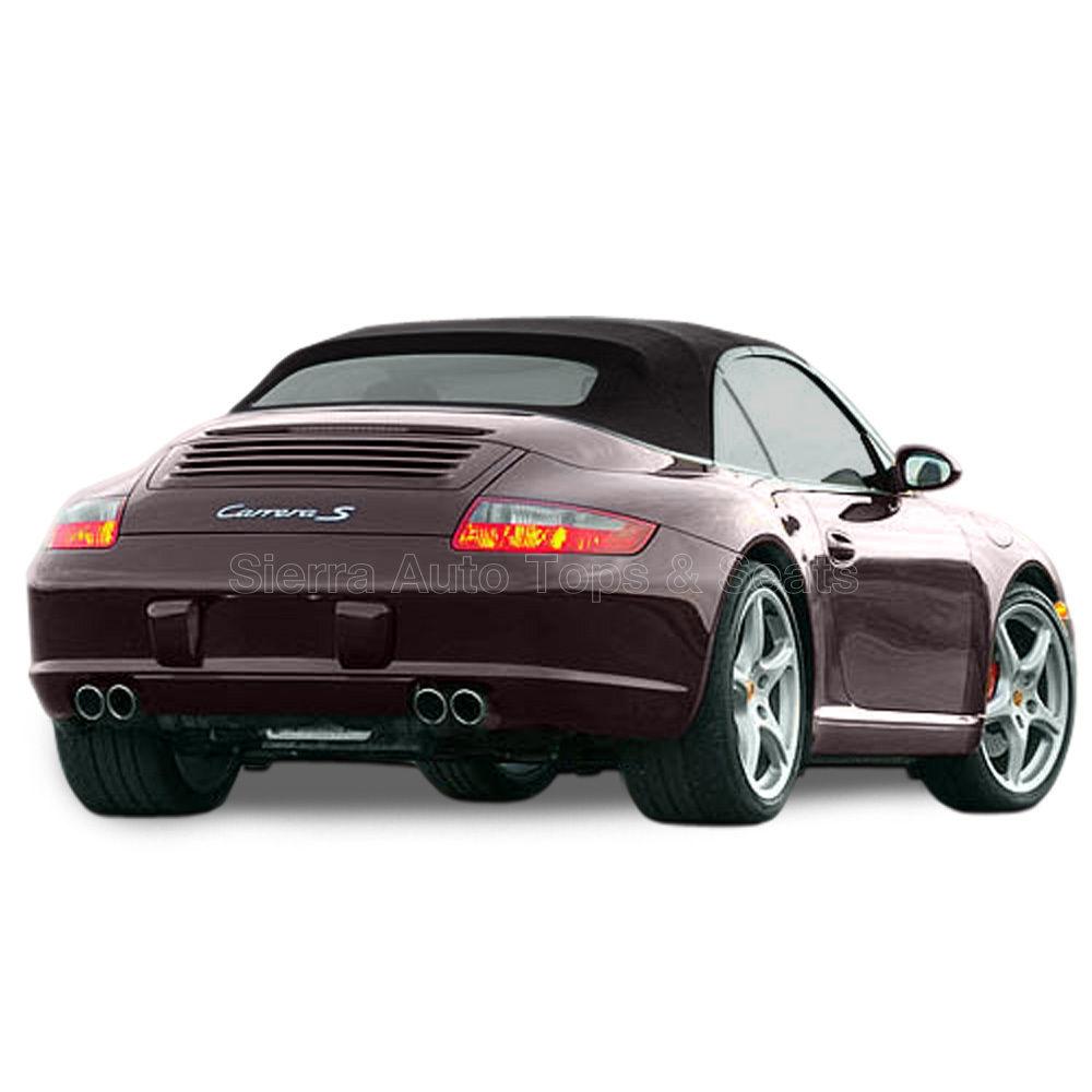 幌 ポルシェ996/997カレラコンバーチブルトップ(2002-2009)、ドイツ語A5、ブラック Porsche 996/997 Carrera Convertible Top (2002-2009), German A5, Black