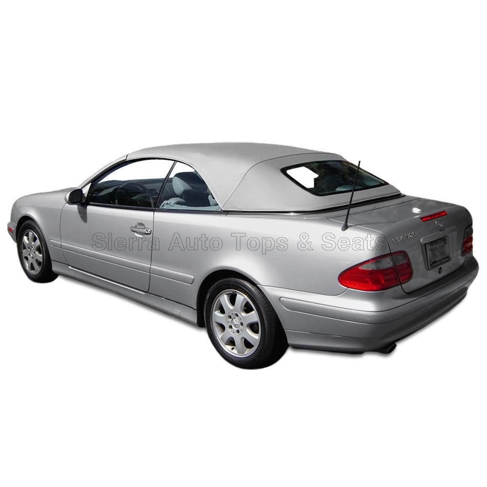 幌 メルセデスCLKコンバーチブルトップ1999-03、加熱ガラスウィンドウ、オリオングレイ Mercedes CLK Convertible Top 1999-03, Heated Glass Window, Orion Gray