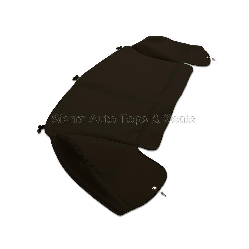 幌 ジャガーXK8ブーツカバー97-06、ブラックエバーフレックスビニール Jaguar XK8 Boot Cover 97-06, Black Everflex Vinyl