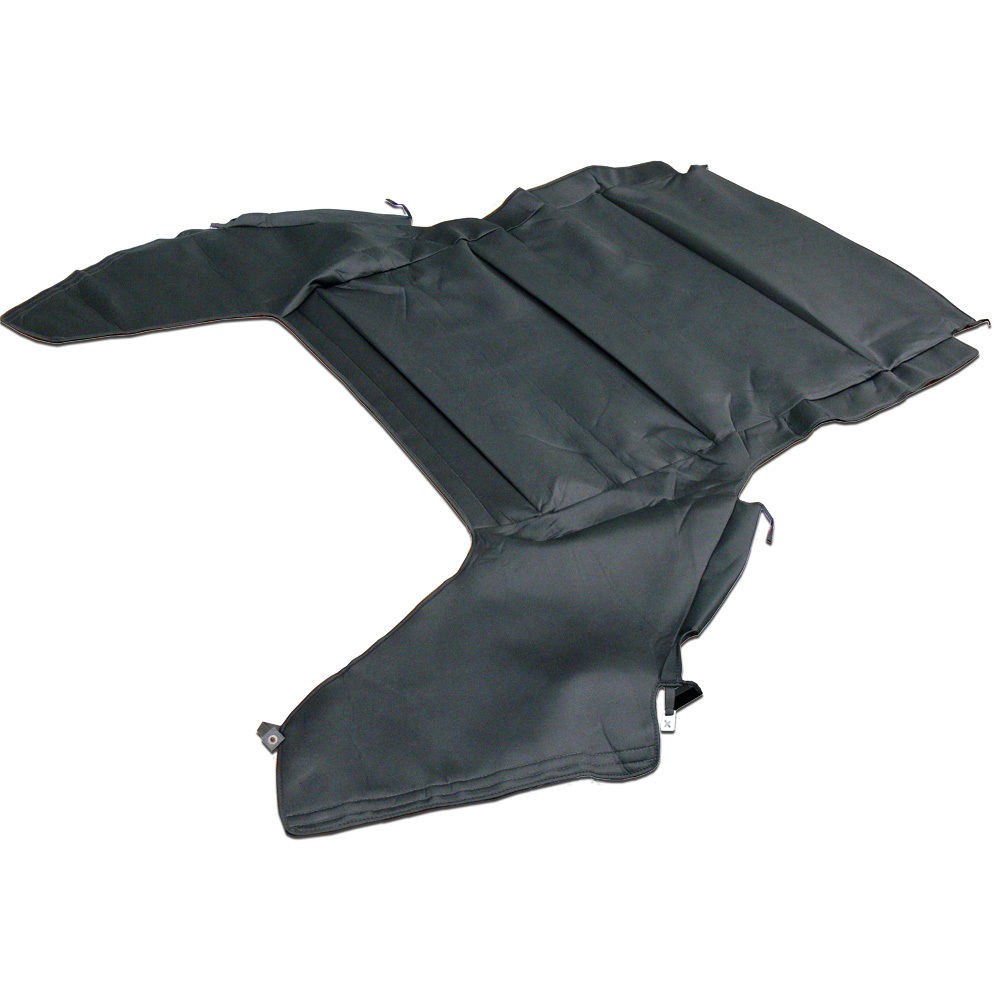 幌 Chrysler Sebring、2000-2002ヘッドライナー、ブラックフォームとフォームバッキング Chrysler Sebring, 2000-2002 Headliner, Black Cloth with Foam Backing