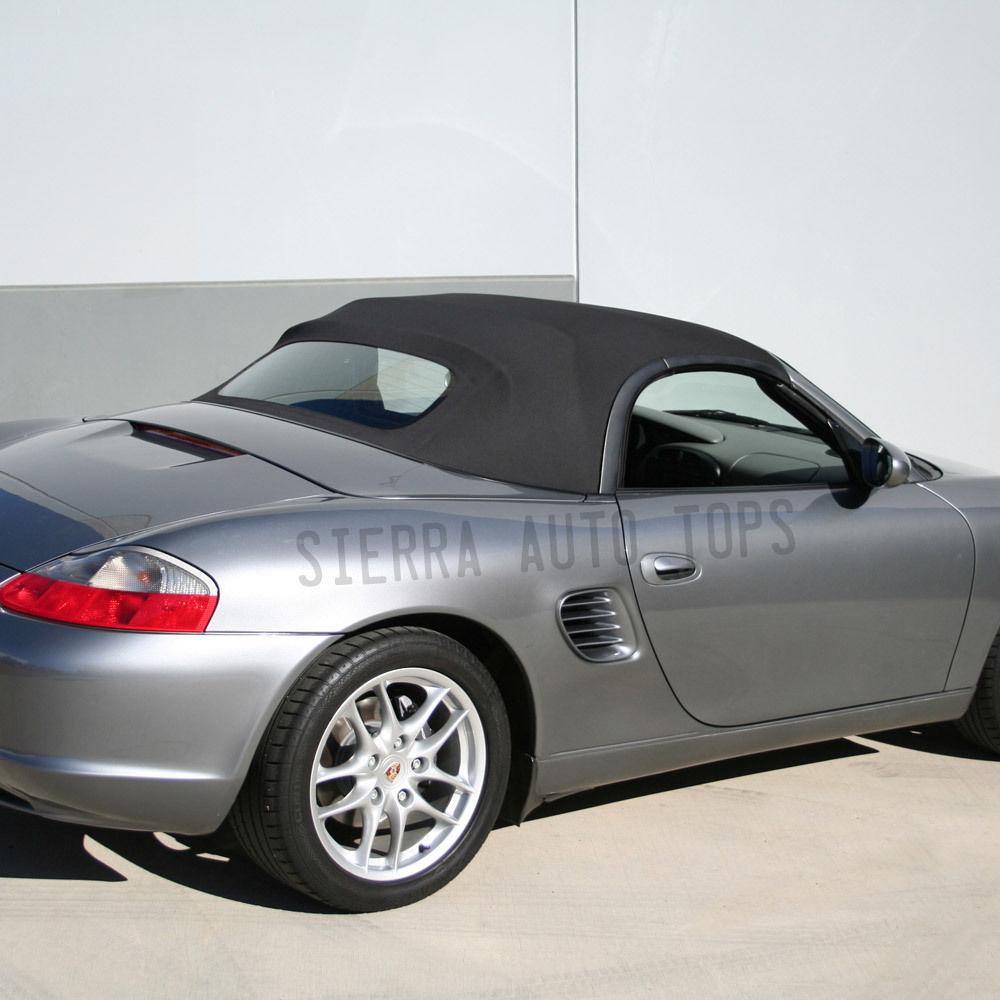 幌 フィット:2003-2004ポルシェボクスター、コンバーチブルトップ、グレー・ハルツース Fits: 2003-2004 Porsche Boxster, Convertible Top, Gray Haartz Stayfast
