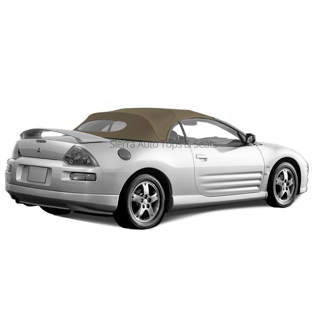 幌 フィット:2000-05 Mitsubishi Eclipse、Convertible Top、Tan Vinyl、Glass Window Fits: 2000-05 Mitsibushi Eclipse, Convertible Top, Tan Vinyl, Glass Window