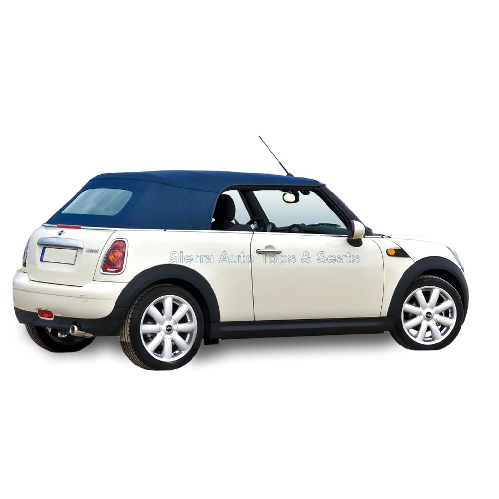 幌 フィット:2004-2008ミニクーパー、コンバーチブルトップブルーハーツ Fits: 2004-2008 Mini Cooper, Convertible Top Blue Haartz Stayfast