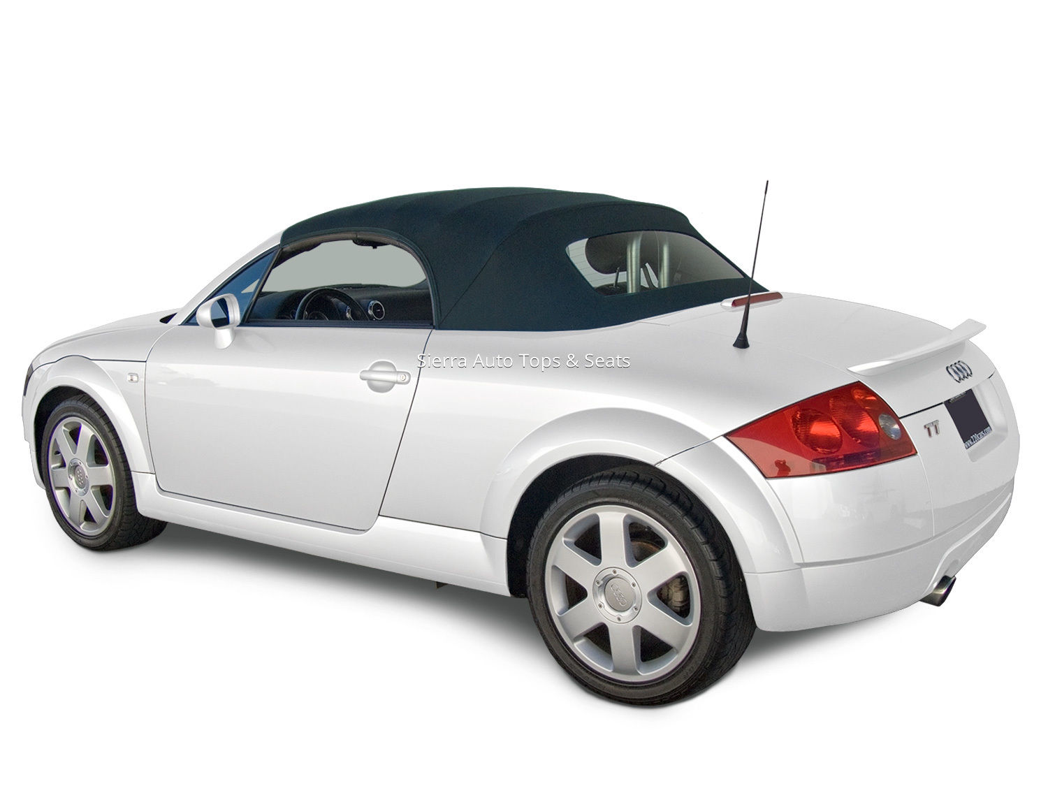 幌 アウディTTコンバーチブルトップ(青色) Audi TT Convertible Top in Blue Stayfast Cloth with Glass Window