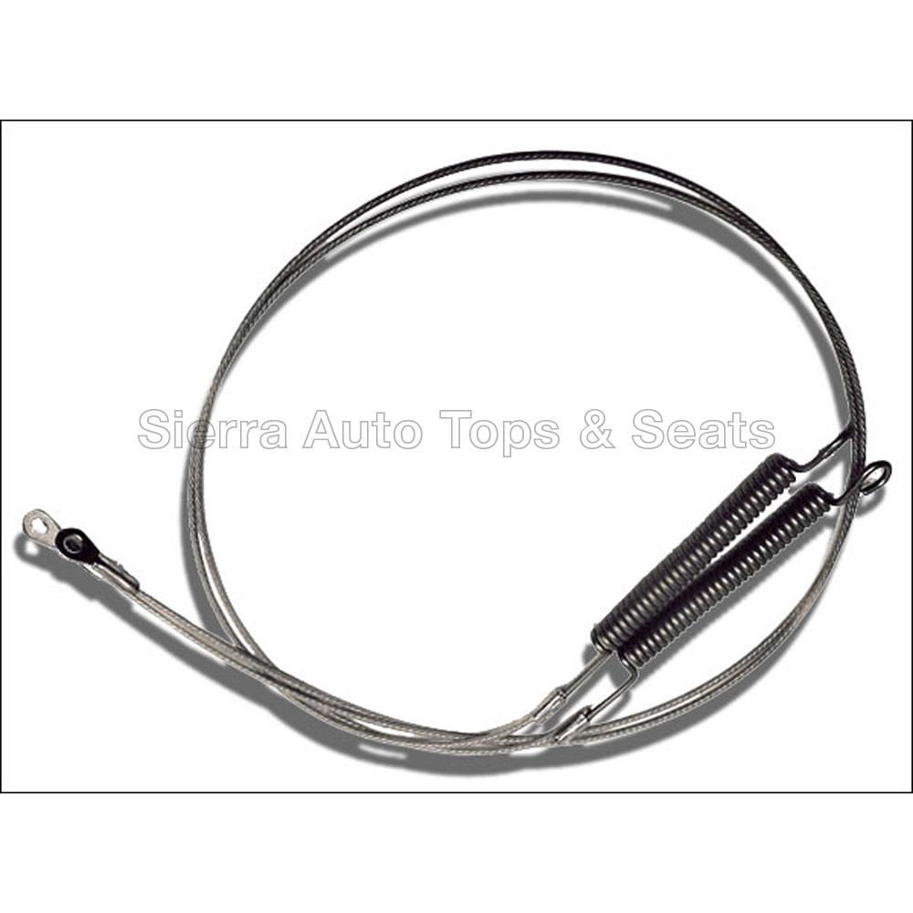 幌 1996-2006コンバーチブル用クライスラーセブリングサイドテンションケーブル Chrysler Sebring Side Tension Cables for 1996-2006 Convertibles
