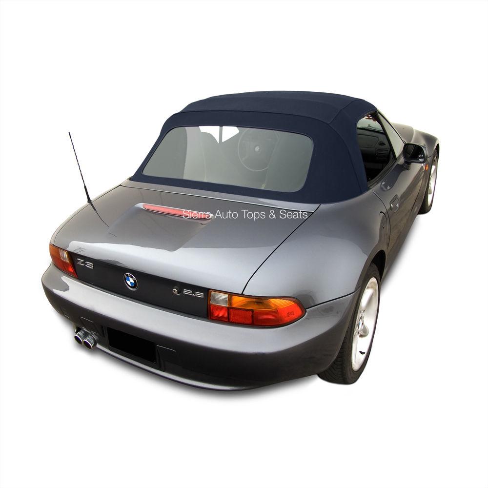 幌 BMW Z3コンバーチブルトップ(ブルー)Twillfast IIクロス(プラスチックウィンドウ付き) BMW Z3 Convertible Top in Blue Twillfast II Cloth with Plastic Window