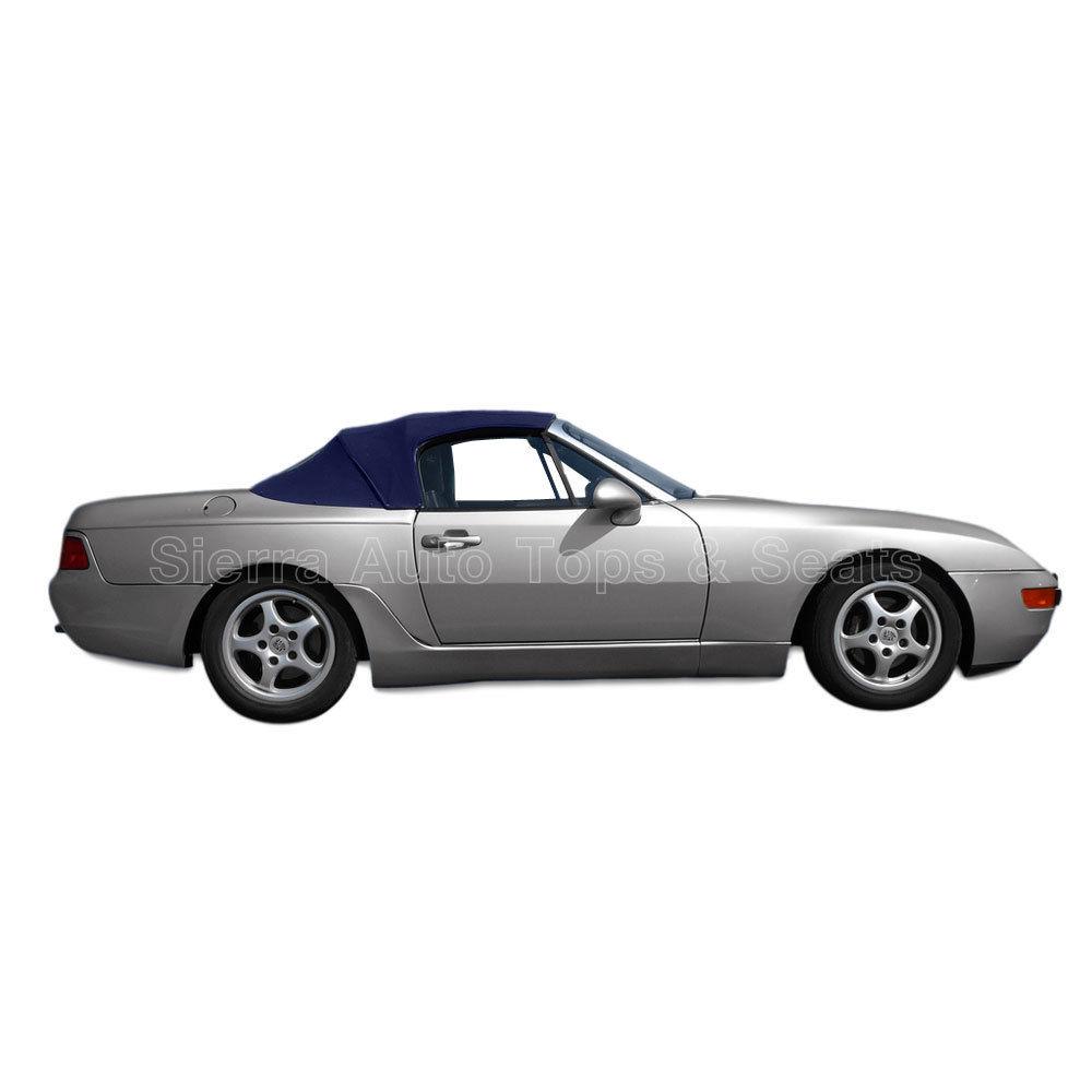 幌 フィット:1989-1995ポルシェ944/968 - コンバーチブルトップ、2pc、ブルーハーツ Fits: 1989-1995 Porsche 944/968 - Convertible Top, 2pc, Blue Haartz Stayfast