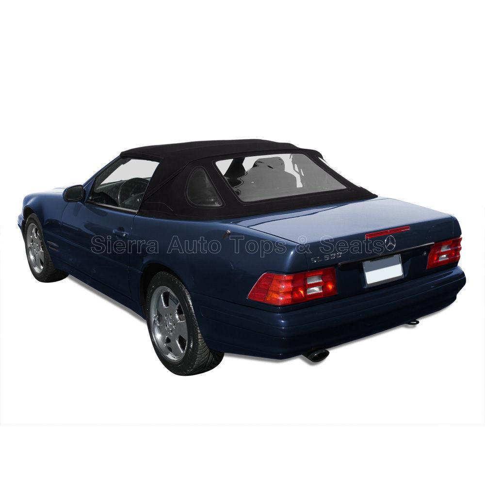 幌 メルセデスSLコンバーチブルトップ1990-2002ブラックハワイでの滞在 Mercedes SL Convertible Top 1990-2002 in Black Haartz Stayfast