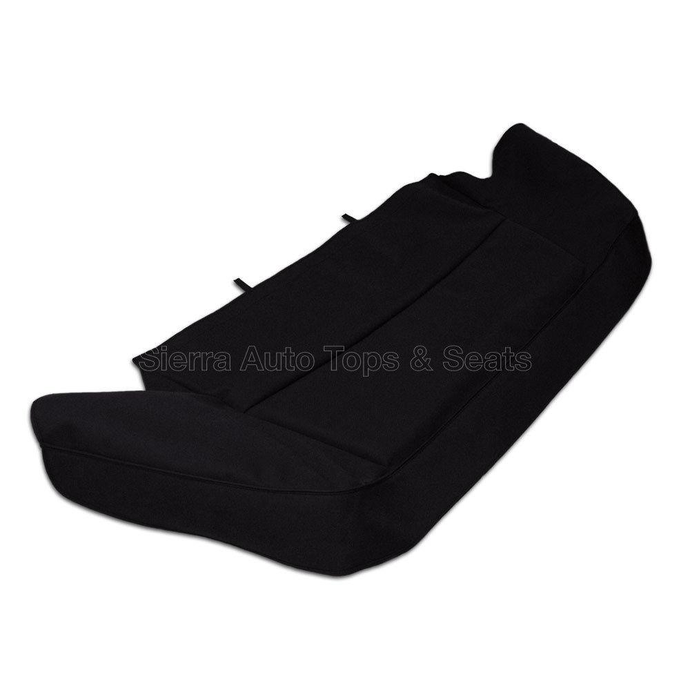 幌 ジャガーXJSブーツカバー89-93、縫製用ハードウェア、ブラックドイツ製クラシッククロス Jaguar XJS Boot Cover 89-93 w/ Sewn-in hardware, Black German Classic Cloth