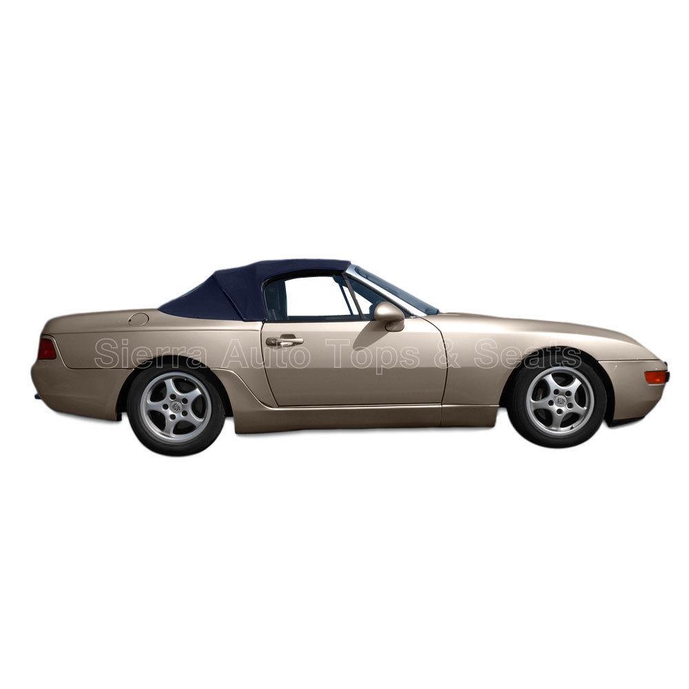 幌 フィット:1989-1995ポルシェ944/968 - コンバーチブルトップ、ブルーハーツツイルファーストII Fits: 1989-1995 Porsche 944/968 - Convertible Top, Blue Haartz Twillfast II