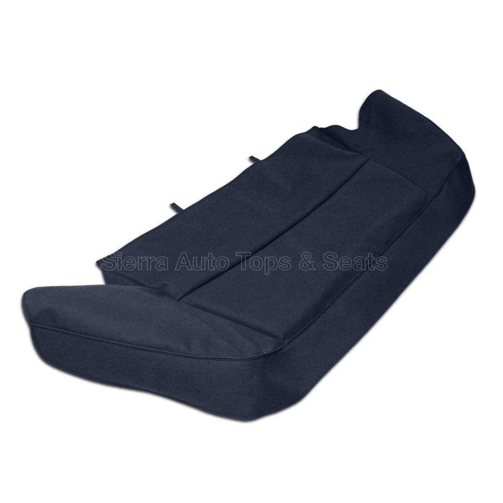 幌 ジャガーXJSブーツカバー89-93、縫製用ハードウェア、ブルードイツクラシッククロス Jaguar XJS Boot Cover 89-93 w/ Sewn-in hardware, Blue German Classic Cloth