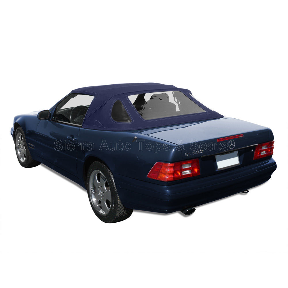 幌 Blue Haartz Twillfast IIでのメルセデス・SL・コンバーチブル・トップ1990-2002 Mercedes SL Convertible Top 1990-2002 in Blue Haartz Twillfast II