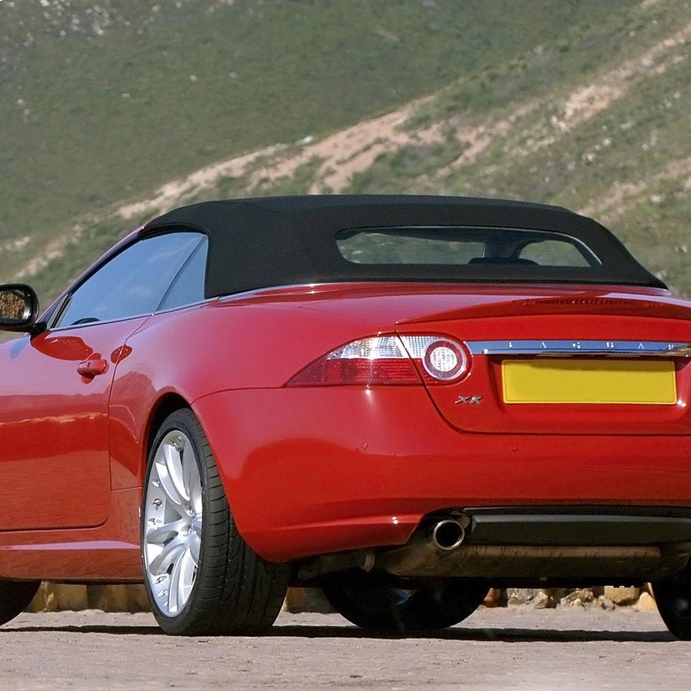 幌 ジャガーXK8 / XKRコンバーチブルトップ1997-2006、グレーベージュドイツ語A5 Jaguar XK8/XKR Convertible Top 1997-2006, Gray Beige German A5