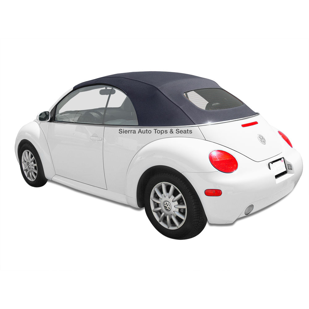 幌 VW Beetle 2003-2010 Convertible Top in Titanグレーウイング付ドイツ語A5 VW Beetle 2003-2010 Convertible Top in Titan Gray German A5 with Glass Window