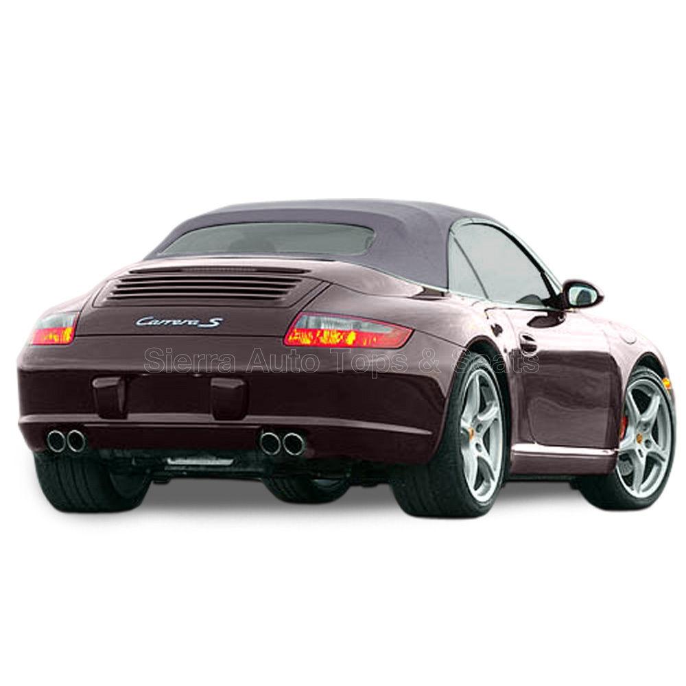 幌 Porsche 996/997 Carrera Convertible Top(2002-2009)、ドイツ語A5、グラファイトグレー Porsche 996/997 Carrera Convertible Top (2002-2009), German A5, Graphite Gray