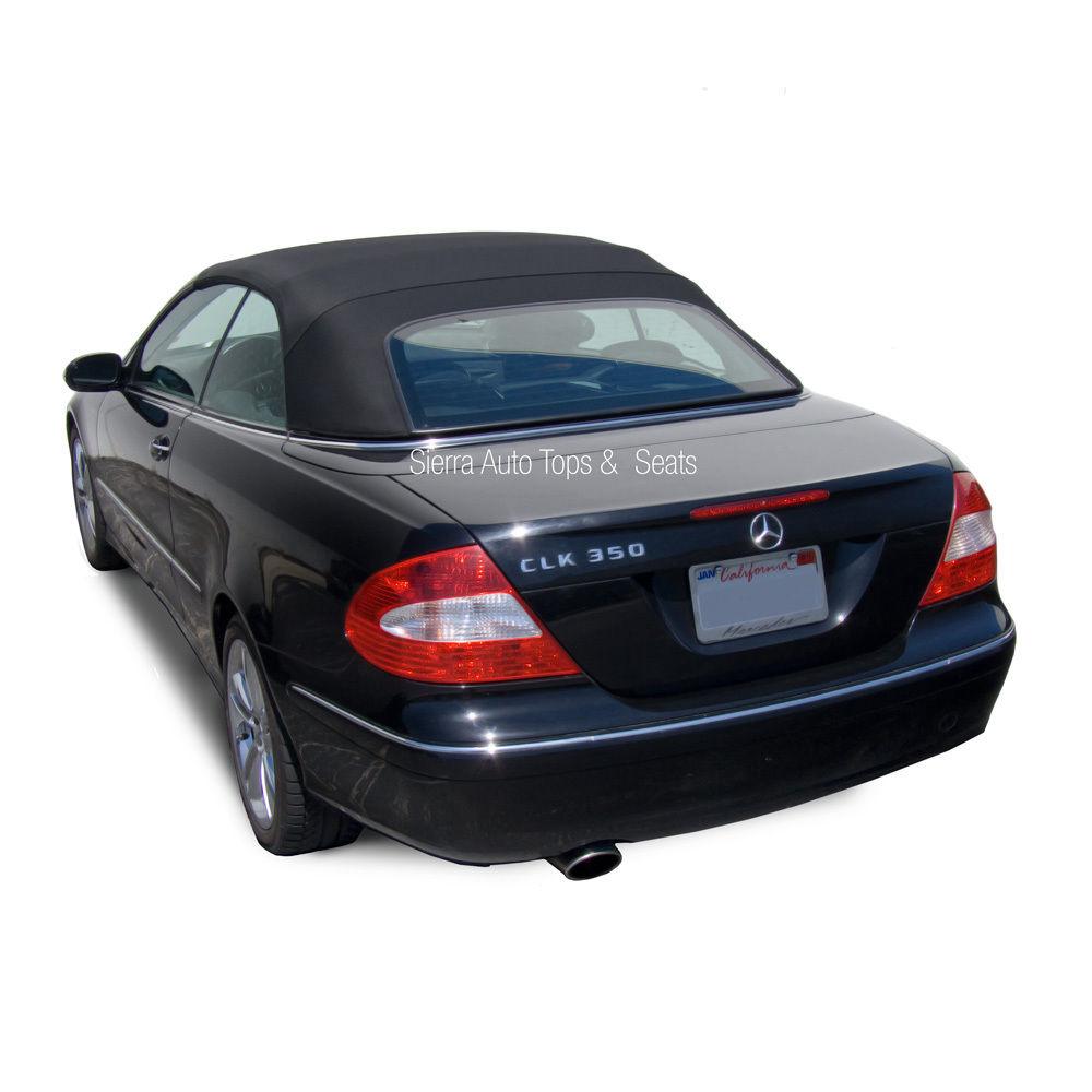 幌 フィット:2004-2009メルセデスCLK、コンバーチブルトップ、ブルーハーツツイルファーストRPC Fits: 2004-2009 Mercedes CLK, Convertible Top, Blue Haartz Twillfast RPC