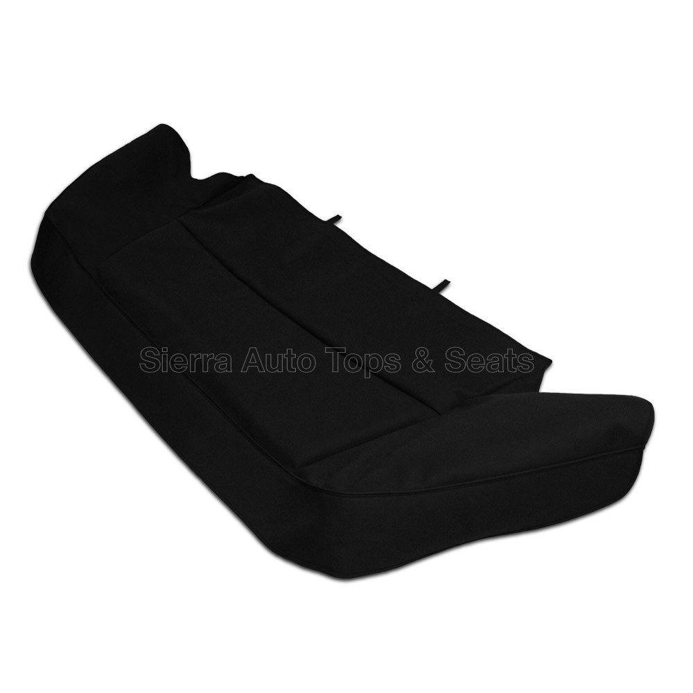 幌 ジャガーXJSブートカバー89-93、縫製用ハードウェア、ブラックツイルファーストIIクロス Jaguar XJS Boot Cover 89-93 w/ Sewn-in hardware, Black Twillfast II Cloth