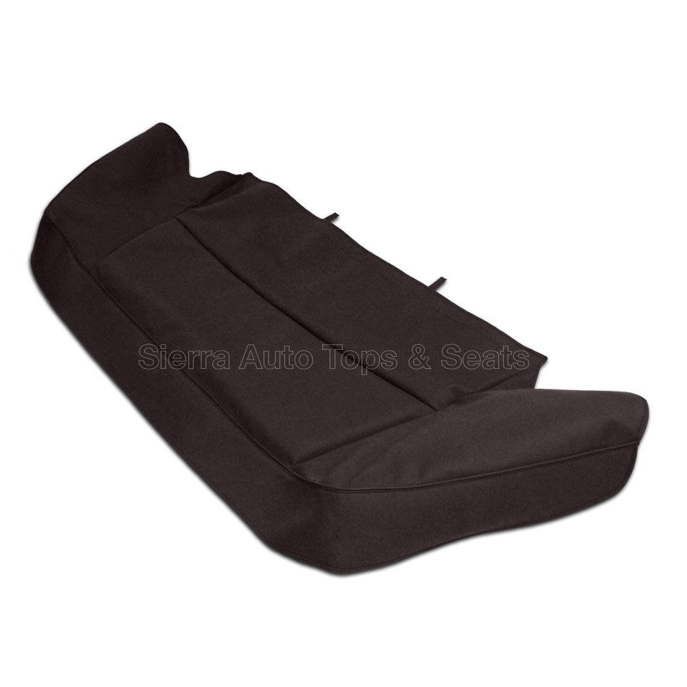 幌 ジャガーXJSブーツカバー89-93掛け縫い、ブラウンツイルファーストIIクロス Jaguar XJS Boot Cover 89-93 w/ Sewn-in hardware, Brown Twillfast II Cloth