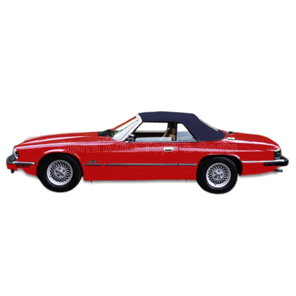 幌 ジャガーXJSコンバーチブルトップ、89-96、ブルーツイルファーストクロス Jaguar XJS Convertible Top, 89-96, Blue Twillfast Cloth