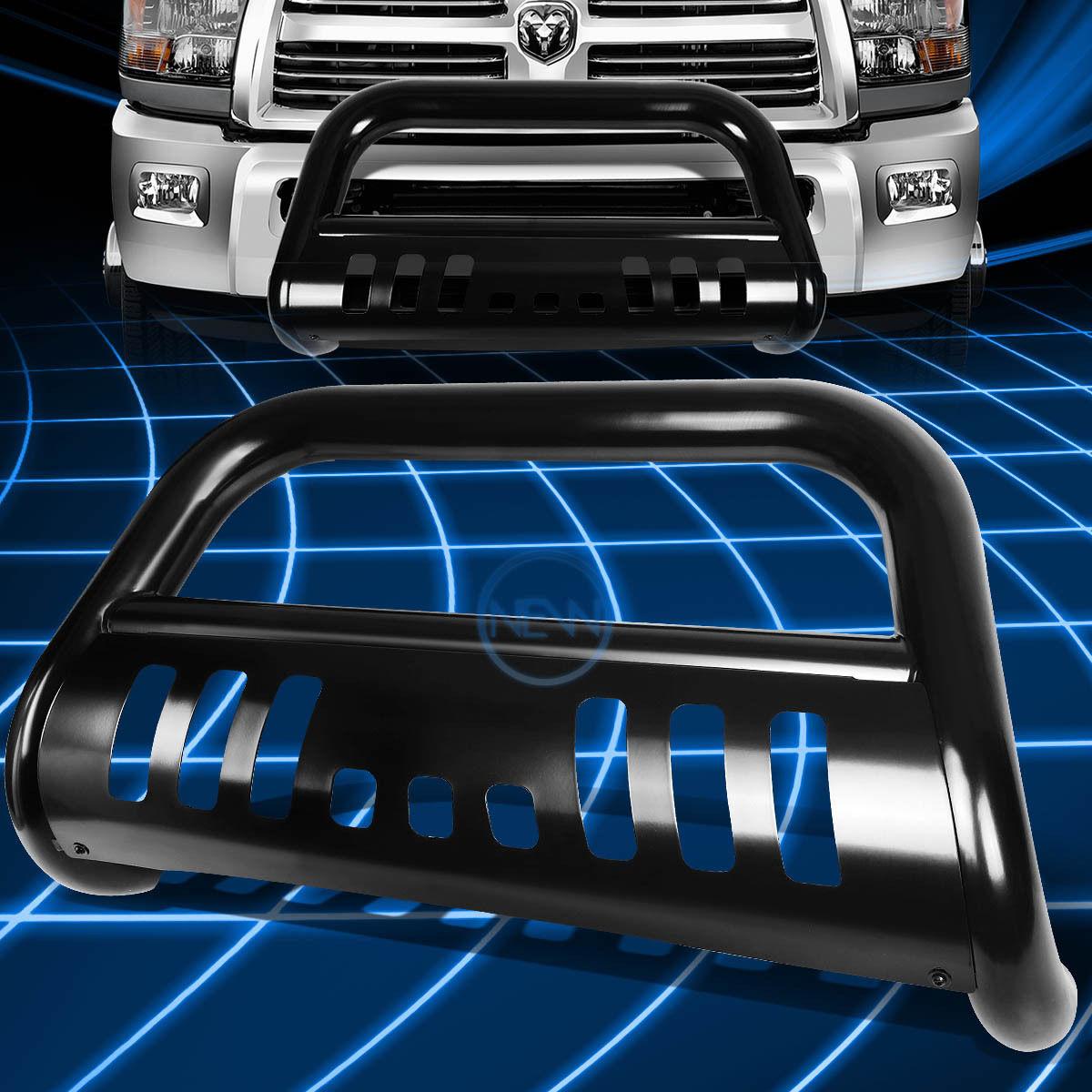 グリル ブラックSSフロントバンパーブルバーグリルガード(2010-2016年)Dodge Ram 2500/3500 Black SS Front Bumper Bull Bar Grille Guard for 2010-2016 Dodge Ram 2500/3500