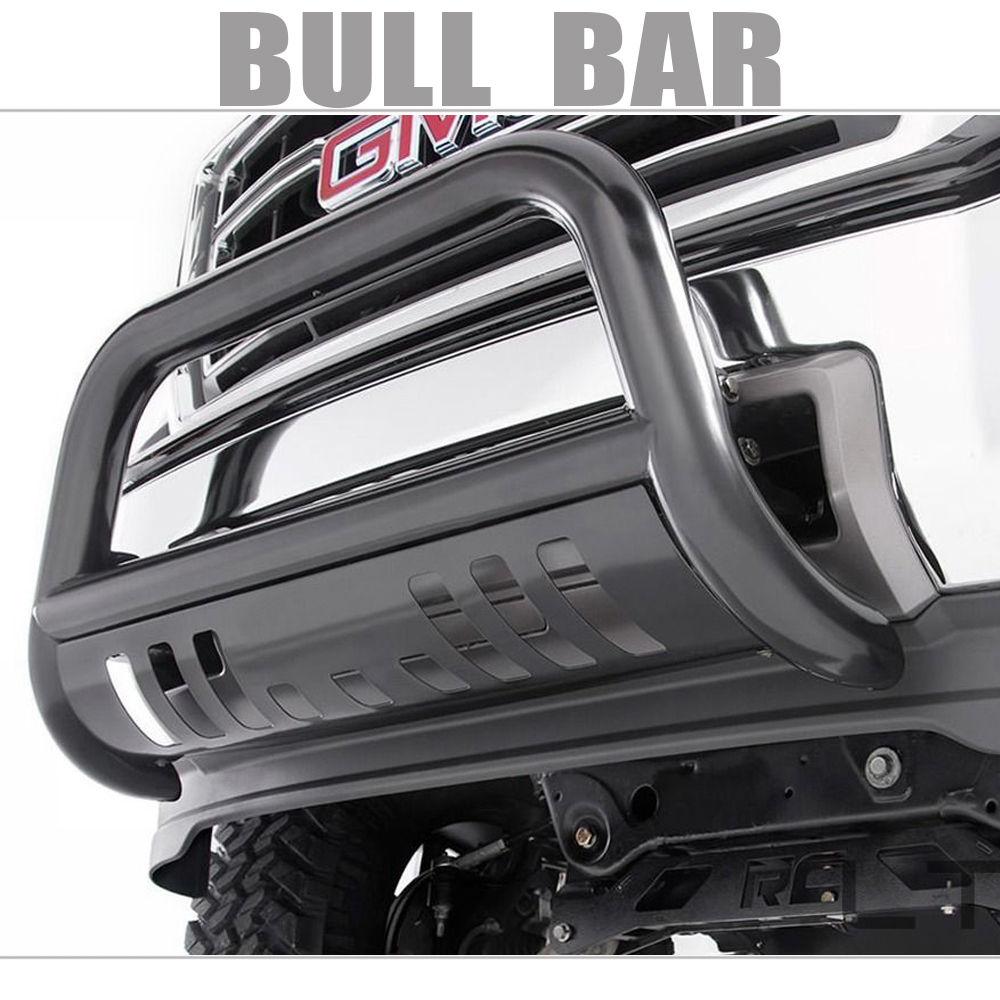 グリル バーバーバンパーグリルガード(10-14ドッジ用)2500/3500パウダーコートブラック Bull Bar Bumper Grille Guard For 10-14 DODGE RAM 2500/3500 Powder Coated Black