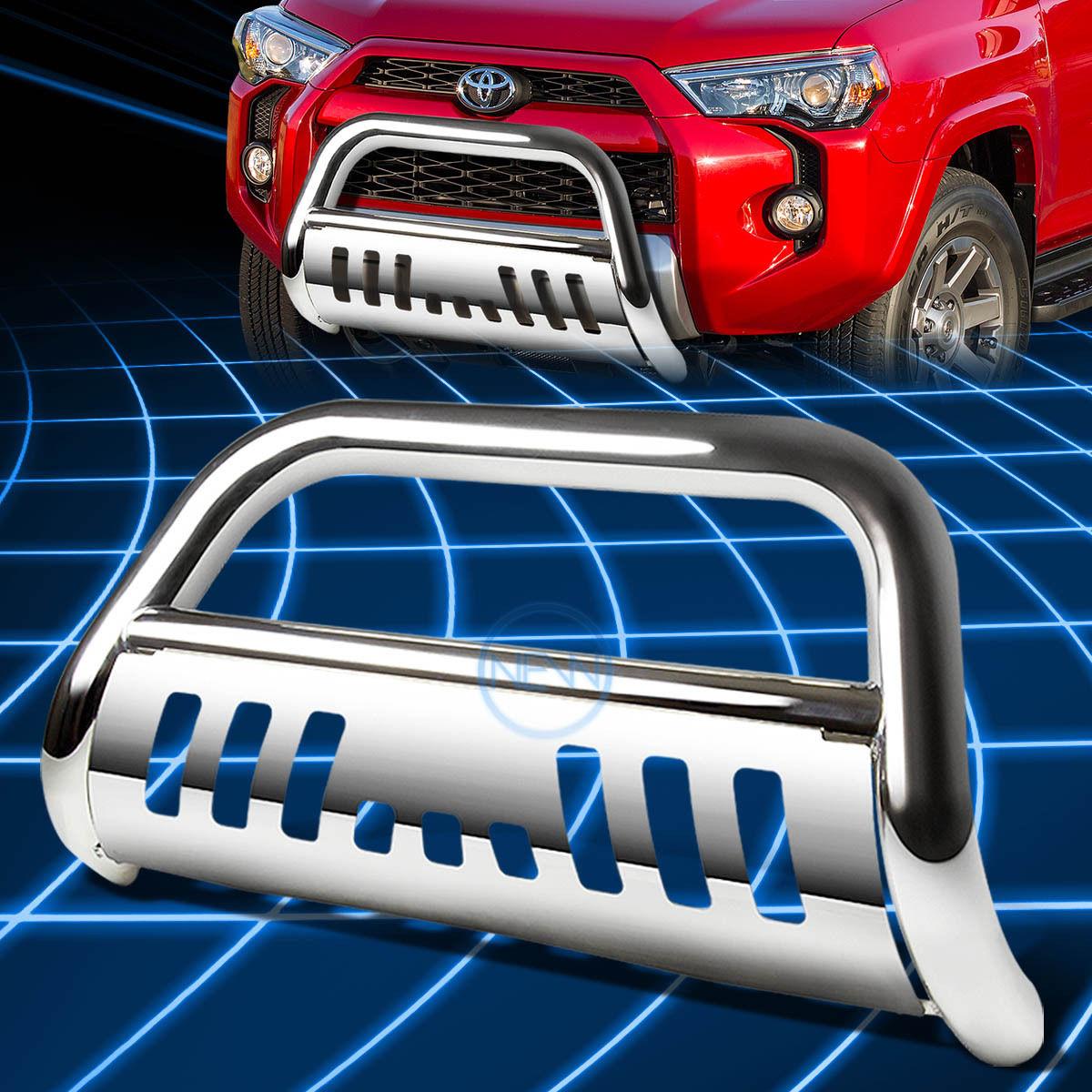 グリル クロームSSフロントバンパーブルバーグリルガード2010-2016トヨタ4Runner N280 Chrome SS Front Bumper Bull Bar Grille Guard for 2010-2016 Toyota 4Runner N280