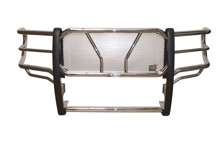 グリル ウェスティンHDXグリルガード2015-2017 Chevy Silverado 2500/3500 HD - ステンレス鋼 Westin HDX Grille Guard 2015-2017 Chevy Silverado 2500/3500 HD - STAINLESS STEEL