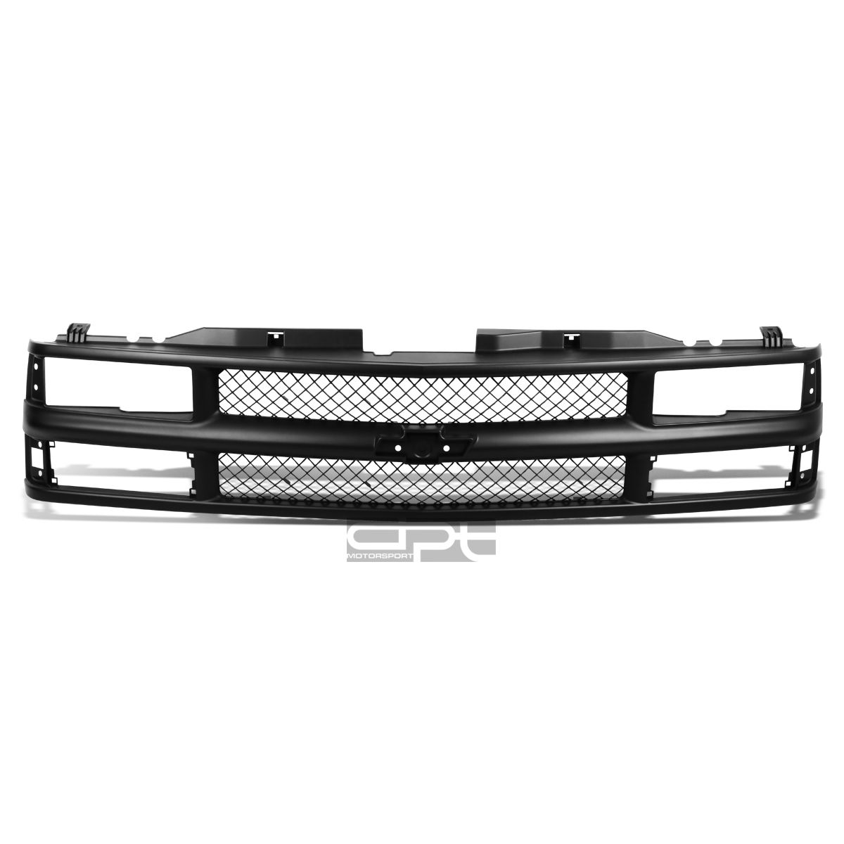 グリル FOR 94-00 CHEVY C10 / TAHOE / BLAZ ER BLACK ABSフロントバンパー/フードアッパーグリルガード FOR 94-00 CHEVY C10/TAHOE/BLAZER BLACK ABS FRONT BUMPER/HOOD UPPER GRILL GUARD