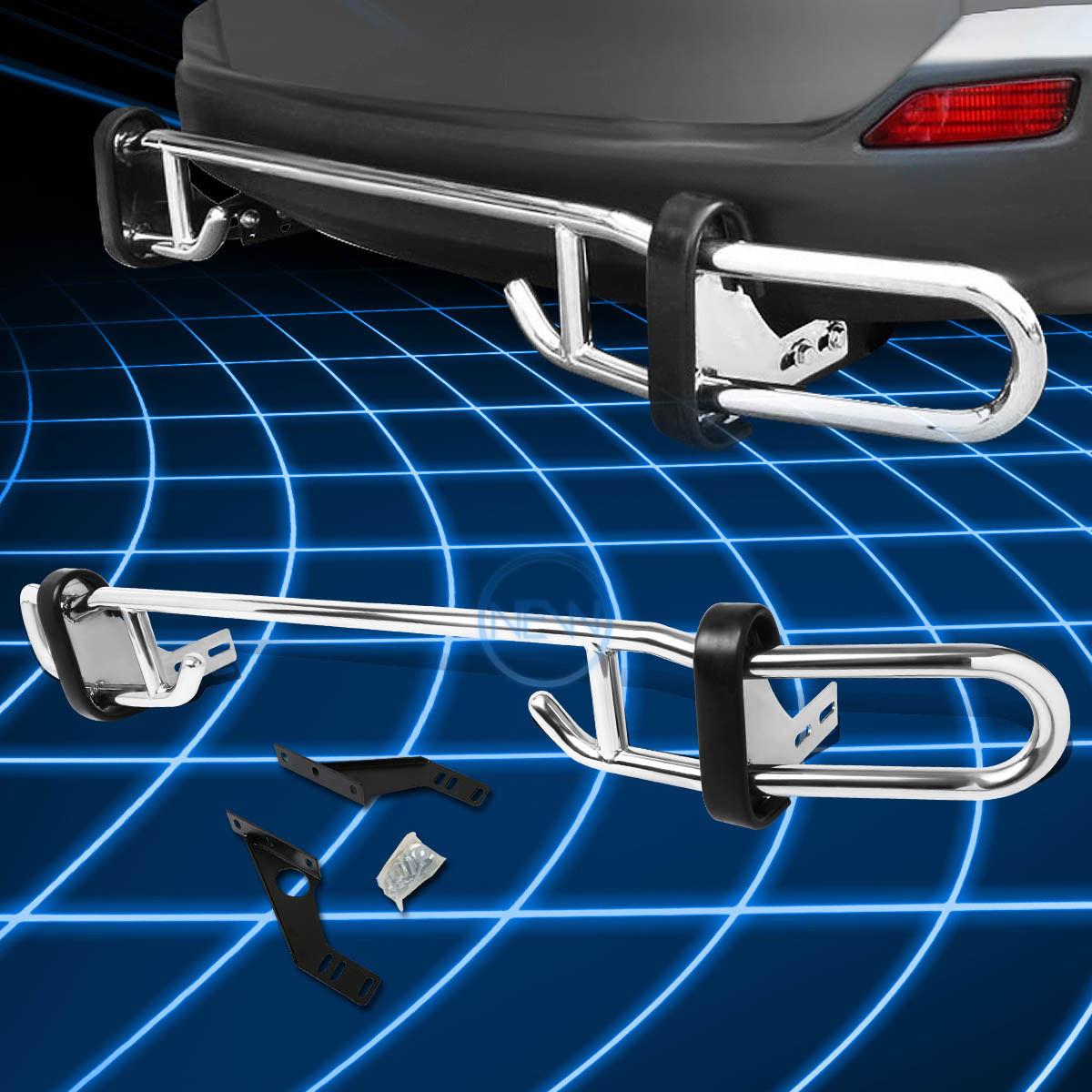 グリル 2006-2012トヨタRAV4 XA30用ステンレススチールダブルパイプバーリアバンパーガード Stainless Steel Double Pipe Bar Rear Bumper Guard for 2006-2012 Toyota RAV4 XA30