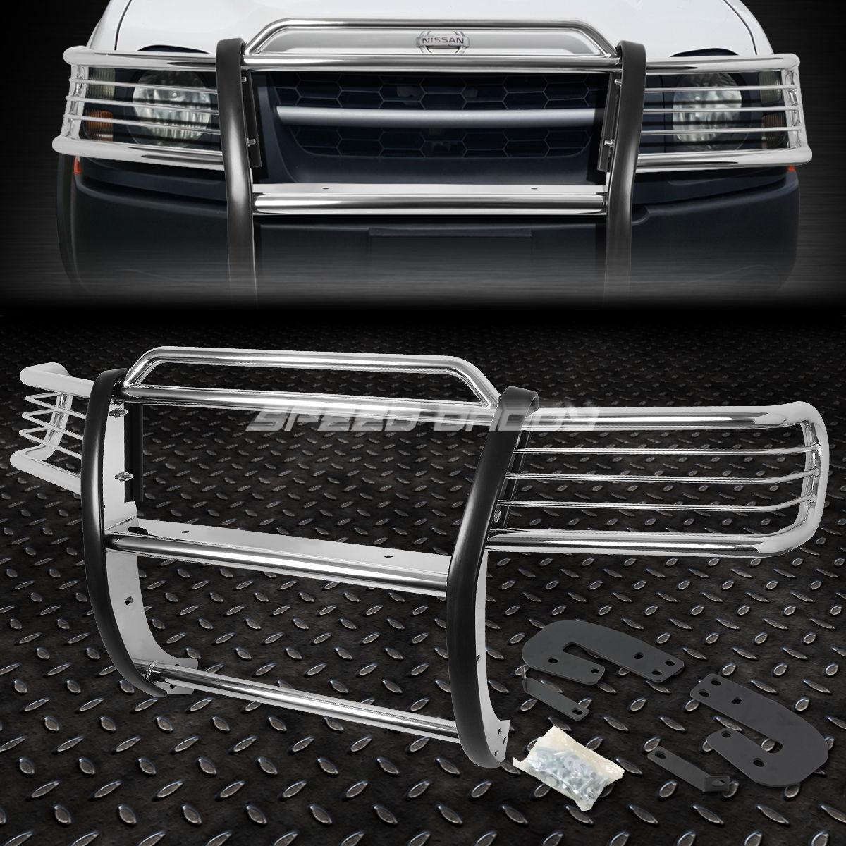 グリル クロムステンレスフロントバンパーグリルガード02-04 NISSAN XTERRA WD22 SUV CHROME STAINLESS STEEL FRONT BUMPER GRILL GUARD FOR 02-04 NISSAN XTERRA WD22 SUV