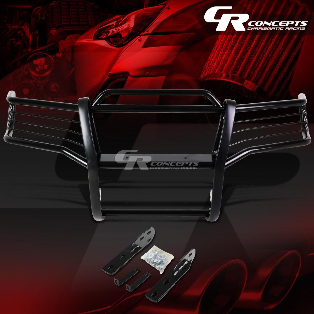 グリル 黒塗装されたマイルストーンブラシグリルガードフレーム01-05 EXPLORER SPORT TRAC V6 BLACK COATED MILD STEEL BRUSH GRILL GUARD FRAME FOR 01-05 EXPLORER SPORT TRAC V6