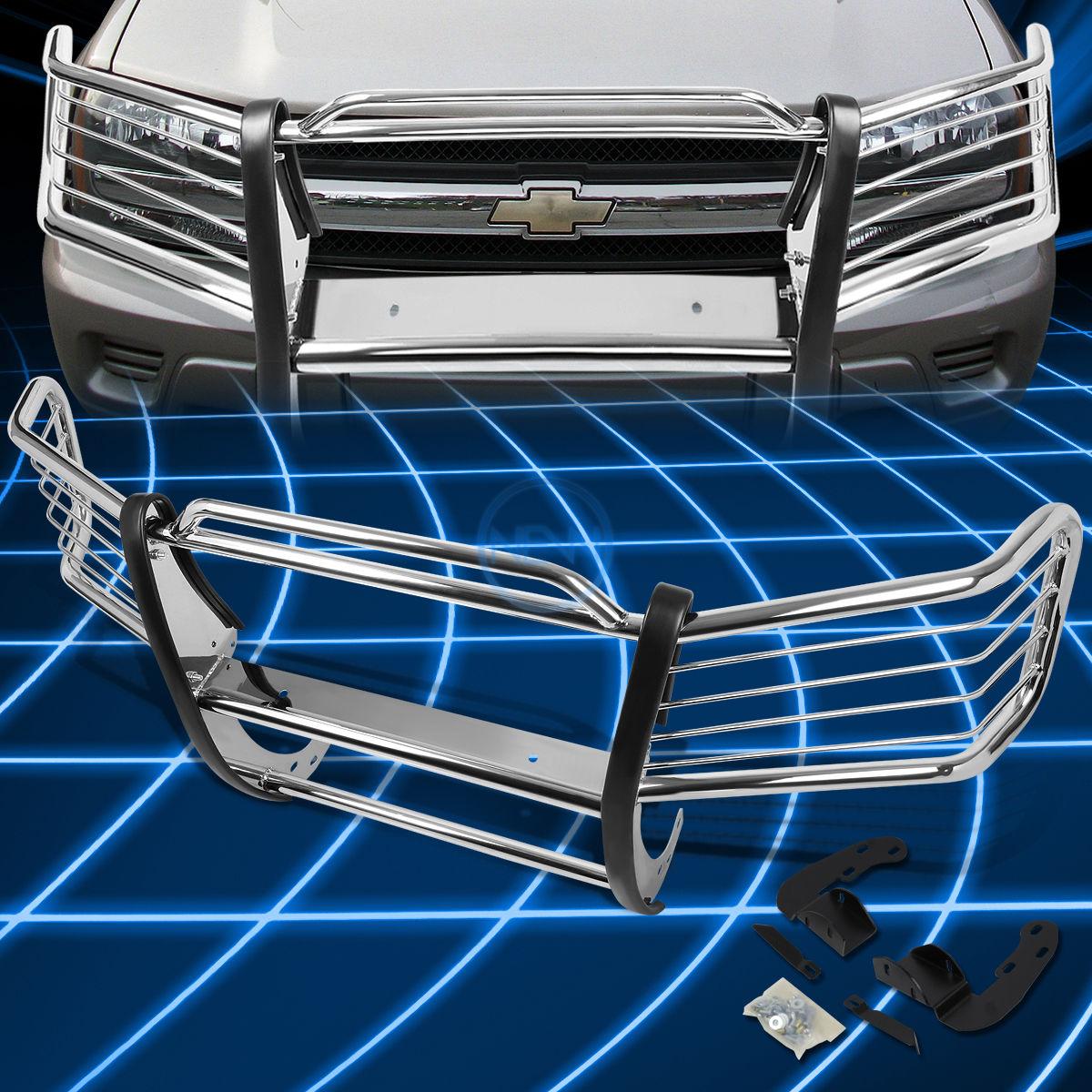 グリル クロムブラシバンパープロテクターグリルガード(2002?2009年)Chevy Trailblazer Ext Chrome Brush Bumper Protector Grille Guard for 2002-2009 Chevy Trailblazer Ext