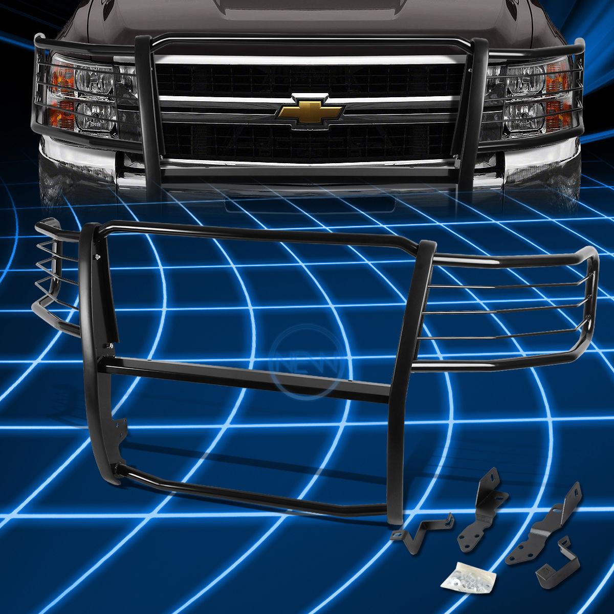 グリル ブラックブラシバンパープロテクターGrille Guard 2007-2013 Silverado 2500/3500 HD Black Brush Bumper Protector Grille Guard for 2007-2013 Silverado 2500/3500 HD