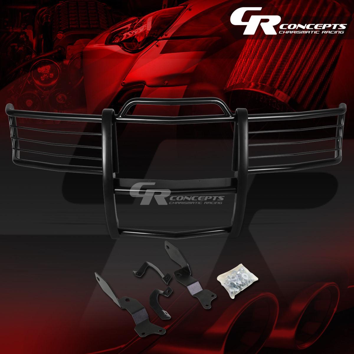 グリル 黒塗装されたマイルストーンブラシグリルガードフレーム01-07 SILVERADO 1500-3500のHD BLACK COATED MILD STEEL BRUSH GRILL GUARD FRAME FOR 01-07 SILVERADO 1500-3500 HD