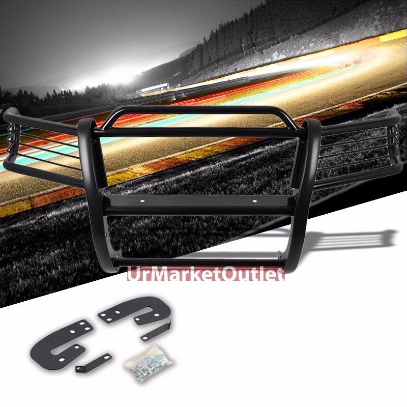 グリル 日産用ブラックマイルドスチールフロントバンパーブラシグリルガード02-04 Xterra WD22 Black Mild Steel Front Bumper Brush Grill Guard For Nissan 02-04 Xterra WD22