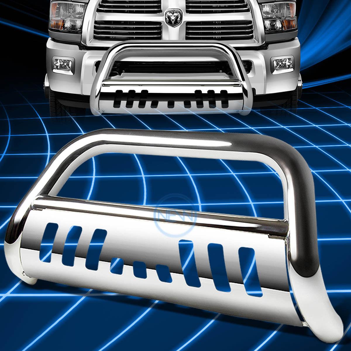 グリル Chrome SSフロントバンパーブルバーグリルガード(2010-2016年)Dodge Ram 2500/3500 Chrome SS Front Bumper Bull Bar Grille Guard for 2010-2016 Dodge Ram 2500/3500