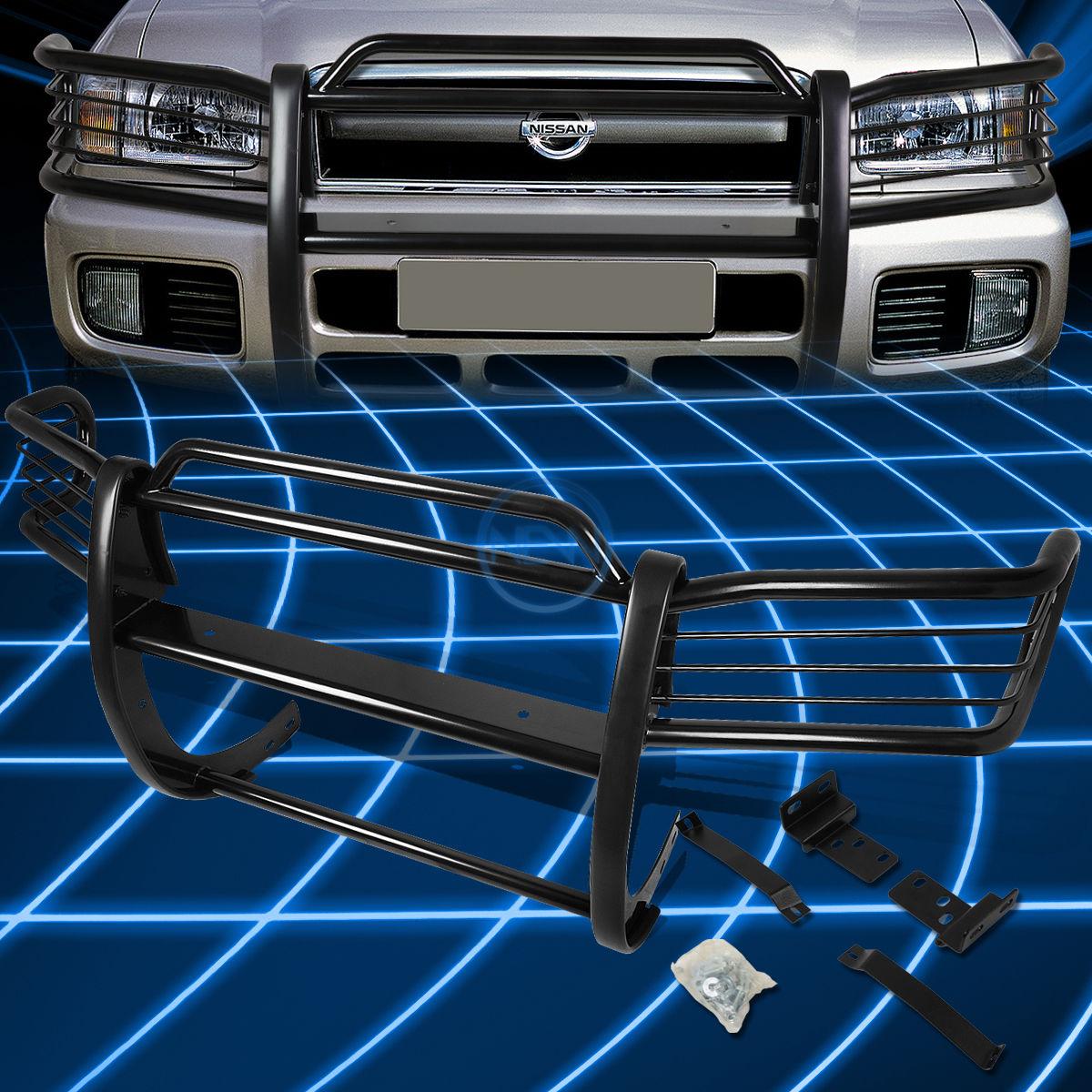 グリル ブラックブラシバンパープロテクターグリルガード(1996?2004年)日産パスファインダーR50 Black Brush Bumper Protector Grille Guard for 1996-2004 Nissan Pathfinder R50