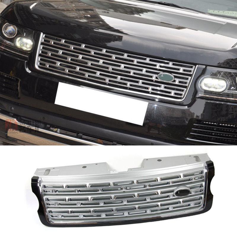 グリル レンジローバースポーツ2014-2016バンパーカーグリルガードメッシュトリムハニカム For Range Rover Sport 2014-2016 Bumper Car Grill Guard Mesh Trim Honeycomb