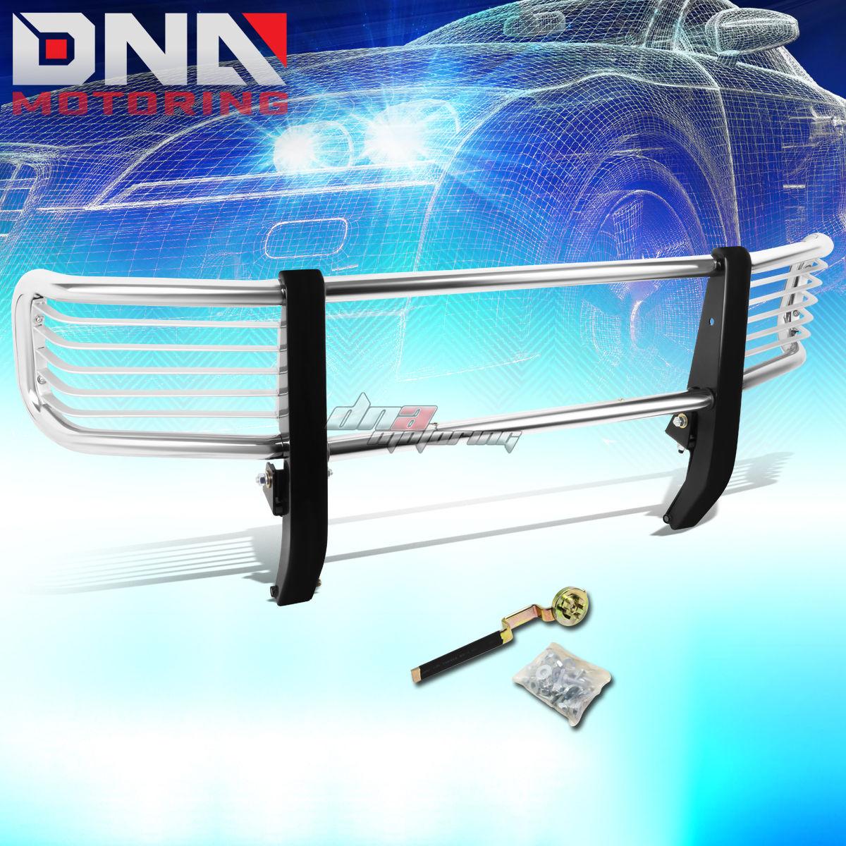グリル 99-12 Gクラス用W463 G500 SUVクロムステンレスフロントグリルガードフレーム FOR 99-12 G-CLASS W463 G500 SUV CHROME STAINLESS STEEL FRONT GRILL GUARD FRAME