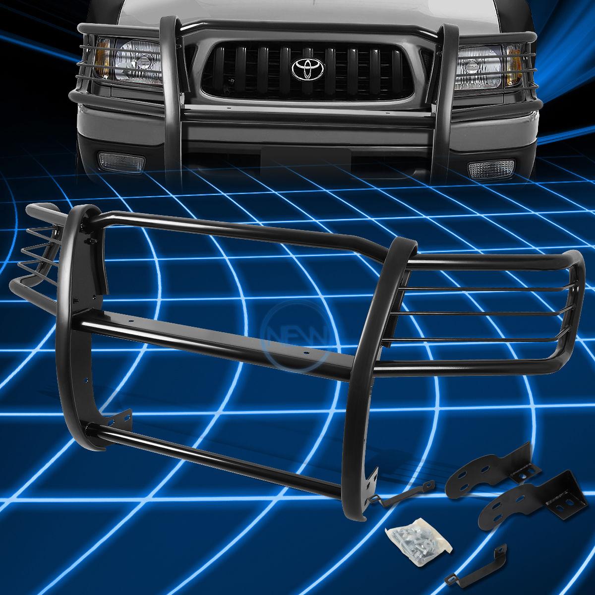 好きに グリル Black ブラックブラシバンパープロテクターグリルガード(1998?2004年)トヨタタコマピックアップ Black Brush Bumper Protector Grille Guard Bumper for Toyota 1998-2004 Toyota Tacoma Pickup, ブルージュエリー アクセサリー:393d0a7c --- yuk.dog