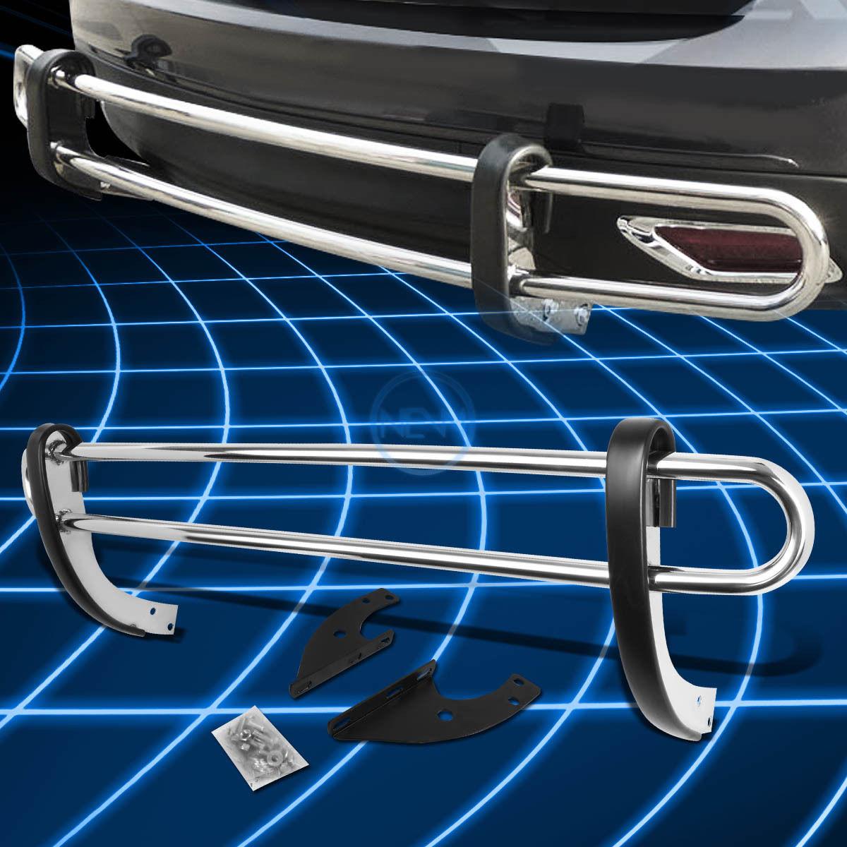 グリル ステンレススチールダブルパイプバーリアバンパーガード(2004年?2009年)Lexus RX330-400h Stainless Steel Double Pipe Bar Rear Bumper Guard for 2004-2009 Lexus RX330-400h