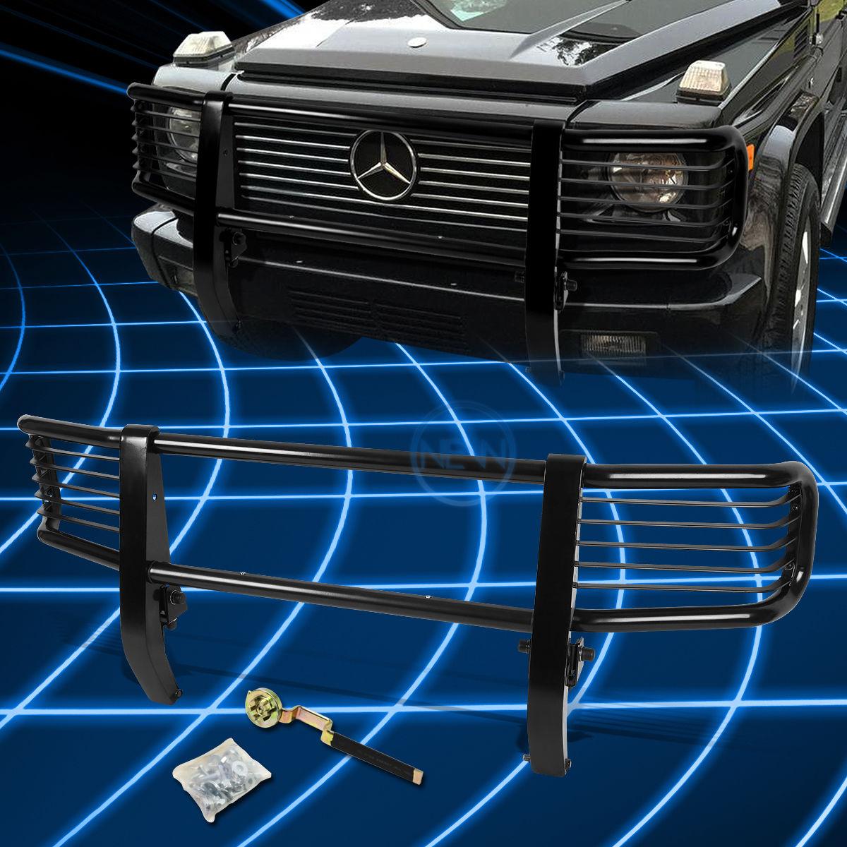 グリル ブラックブラシバンパープロテクターグリルガード(1999?2012年)メルセデスG500 Gクラス Black Brush Bumper Protector Grille Guard for 1999-2012 Mercedes G500 G-Class