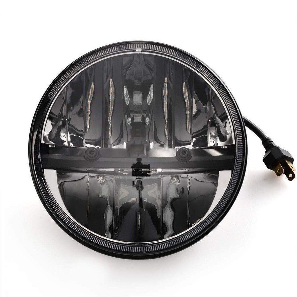 ヘッドライト 複雑なリフレクター高輝度LEDヘッドライトは、Trucklite Harleyモデル7