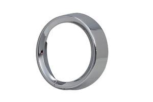 ヘッドライト ハーレーFLH / T 14-16用のVツインクロームヘッドライトベゼルトリムリングベゼル V-Twin Chrome Headlight Bezel Trim Ring Bezel for Harley FLH/T 14-16