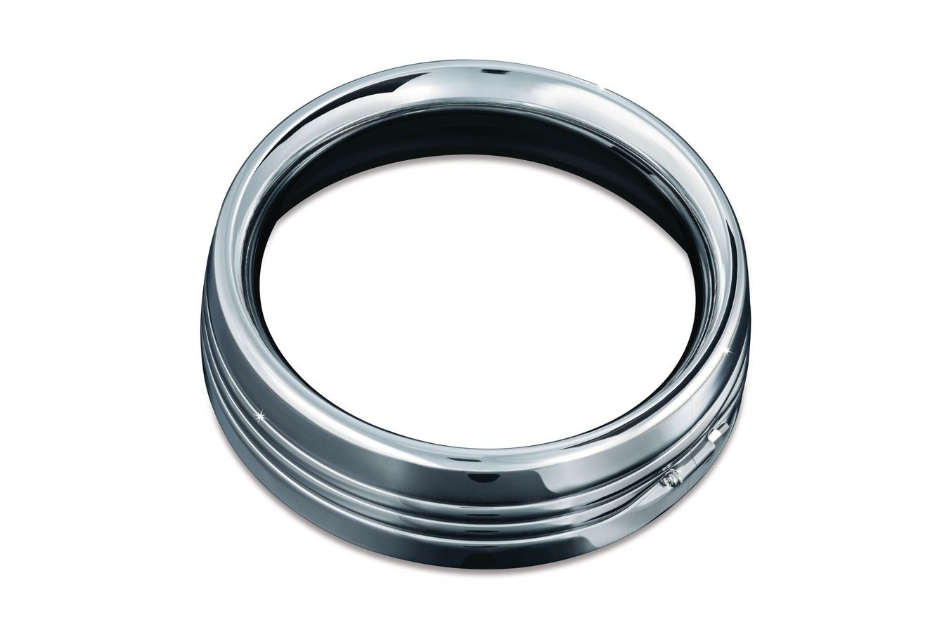 ヘッドライト Kuryakynクロムトリムリング(7インチヘッドライト用)(ea) Kuryakyn Chrome Trim Ring for 7