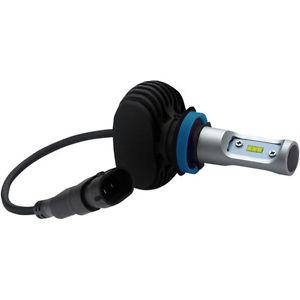 ヘッドライト ヘッドライト交換用H4 LEDヘッドライトバルブハーレーFLHT用FLHX 14-16 Headwinds Replacement H4 LED Headlight Bulb for Harley FLHT FLHX 14-16
