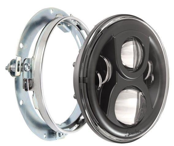 ヘッドライト JWスピーカーブラックエボリューション2 L.E.Dは7
