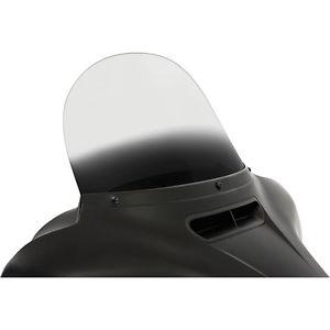 風防 メンフィスシェード12インチグラデーションブラック交換用フロントガラスハーレー14-15 H-D FLH / T Memphis Shades 12