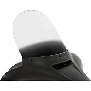風防 メンフィスシェード15インチグラデーションブラック取り替え用フロントガラスハーレー14-15 HD FLH / T Memphis Shades 15