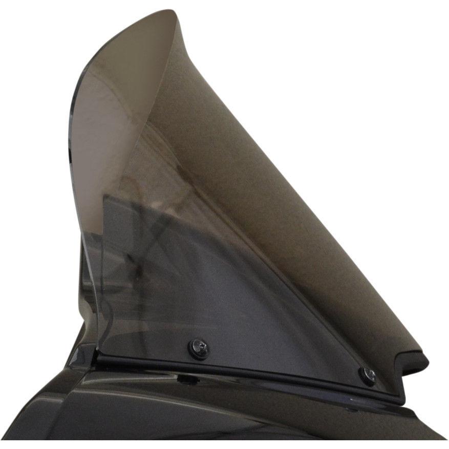風防 ウィンドベスト12インチライトスモークフリップデザインウィンドシールドハーレーロードグライドFLTRX 15-16 Wind Vest 12